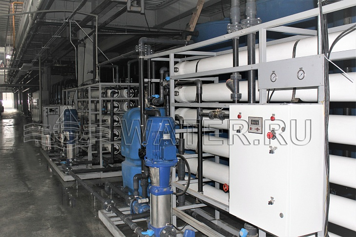 промышленные системы водоподготовки